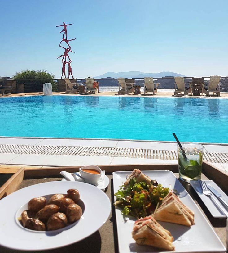 Thank you @sundance_kid85 for sharing this amazing pic with us! #grandmasrestaurant #pool #ios #iosisland #iosgastronomy #liostasi #foodies #instafood #instagood #lunchtime #greekfood #greekcuisine