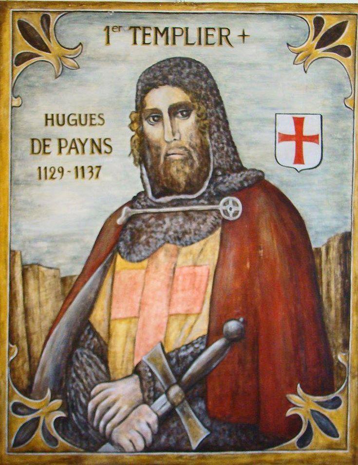 Hugues de Payns, l'un des fondateurs de l'ordre du Temple