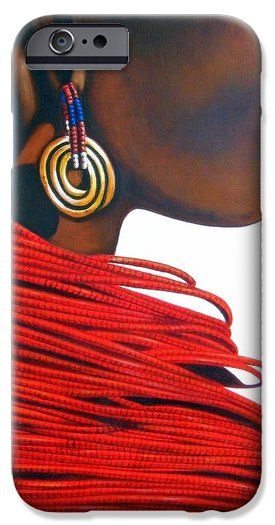 Masai Bride iPhone 6 Case by Tracey Armstrong