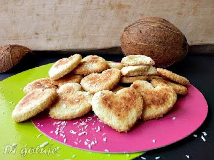 Kokosowe ciasteczka z serkiem mascarpone