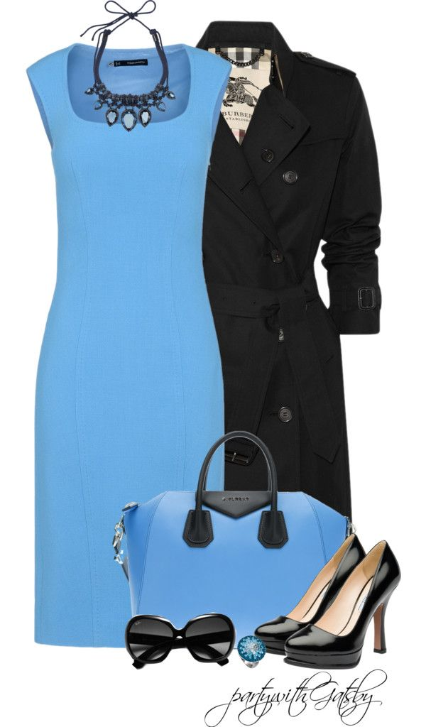 """Devil with a Blue Dress (II)"" by partywithgatsby on Polyvore"