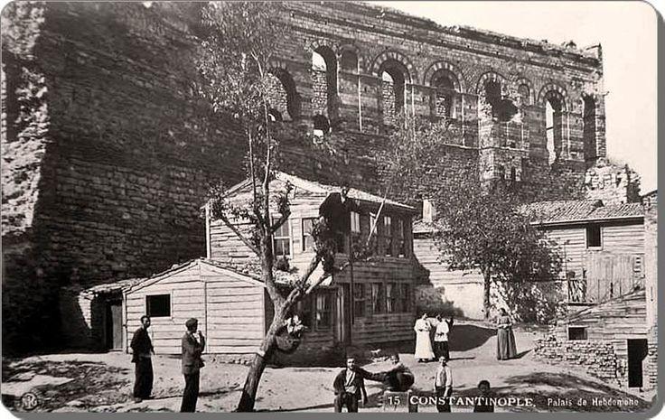 Tekfur Sarayı - 1900'ler, Tarihin yok edemediği yapıtlar