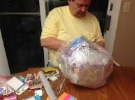 Image result for saran wrap ball game