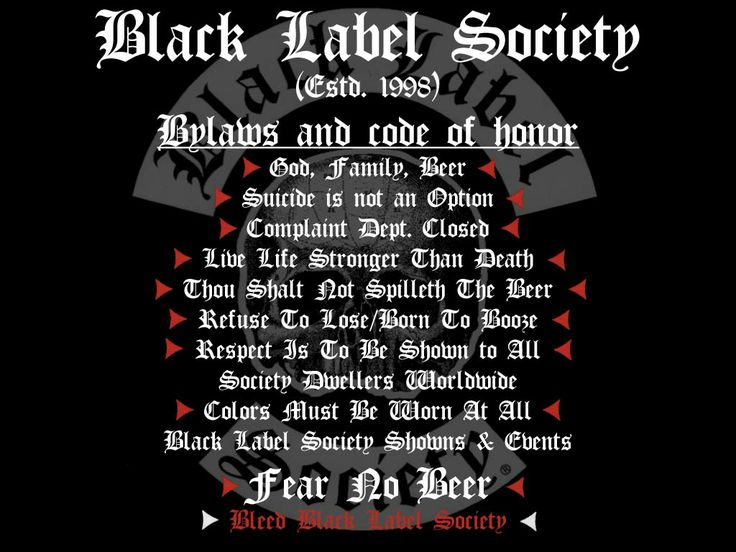 Black Label Society | Black Label Society