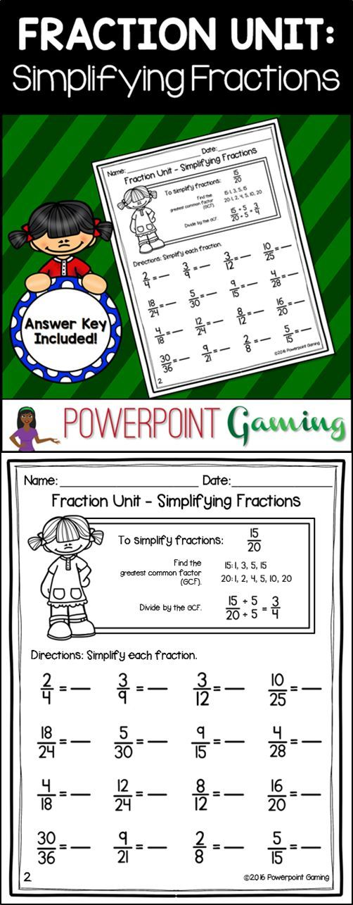 Best 25+ Simplest form fractions ideas on Pinterest | Fractions in ...