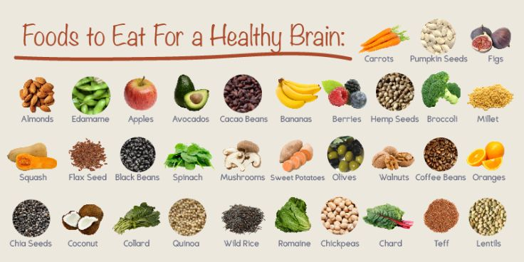 Brain food a great school concept focuses of the positives of healthy eating and brain growng yum yum