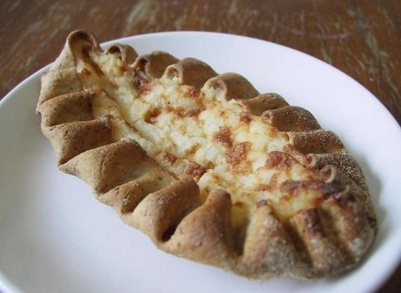 Karelian pastry (piirakka). Finland