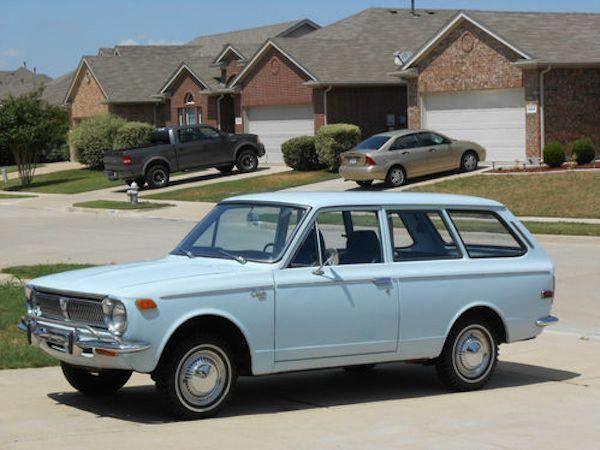1970 Toyota Corolla 2 Door Wagon Toyotaclassiccars Toyota Corolla Classic Cars Toyota Cars