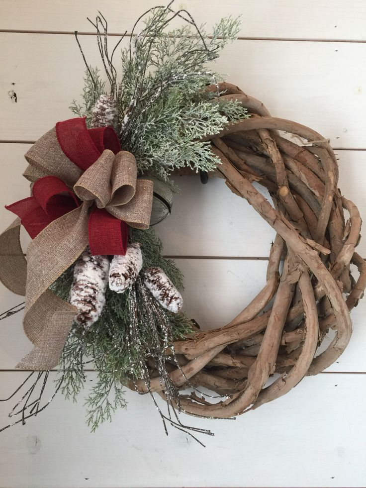 1000 Ideas About Primitive Wreath On Pinterest Berry