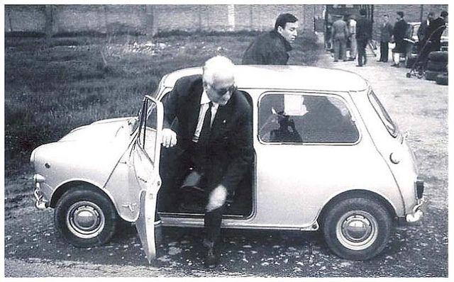 Enzo Ferrari, the founder of the Ferrari car manufacturing company, was a big fan of the Mini
