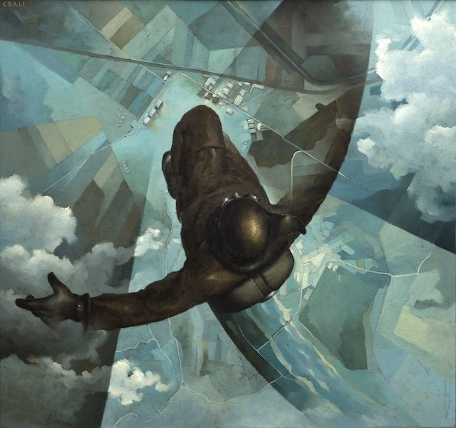 Udine_Crali_1939 'Before the parachute opens'