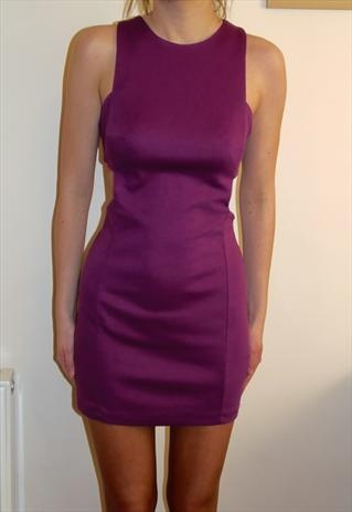 Purple going out dress. $22