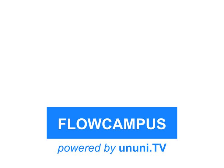 FlowCampus-Logo - powered by ununi.TV: http://ununi.tv/de/flowcampus