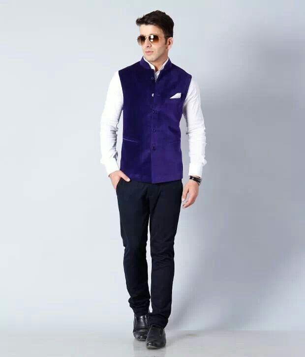 Royal Blue Velvet Jacket. !