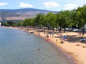Penticton, BC: Summers in the hot sun, making new friends and playing in the sand.