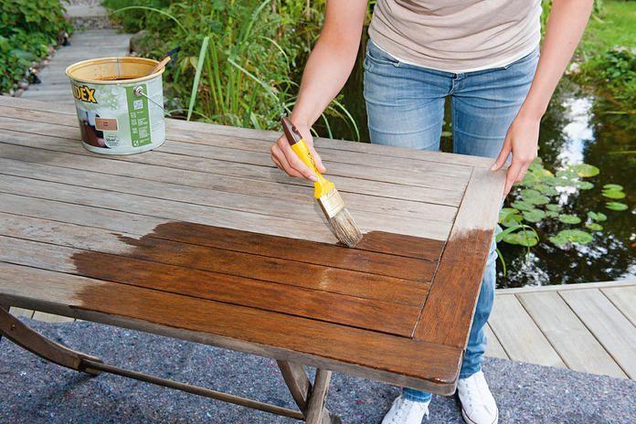 Gartenmobel Aus Holz Pflegen Und Auffrischen Gartenmobel Holz Teak Gartenmobel Gartenmobel
