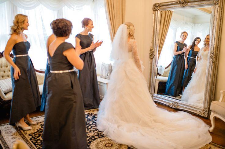 Laurie in her custom made Ella Moda gown #ellamoda #weddinggown #custommade #bespoke #bride #bridal