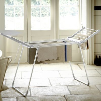 Lakeland Dry-Soon Winged Heated Clothes & Towel Indoor Airer (Under 3p / Hour!): Amazon.co.uk: Kitchen & Home