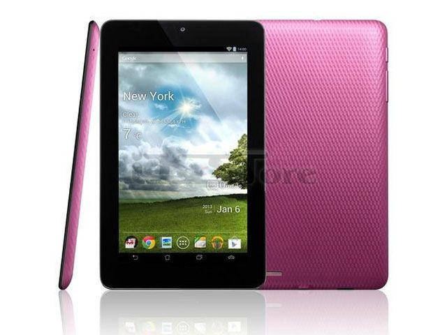 "Asus style Memo Pad ME172V Tablet PC MID 7"" 1 GHz WiFI 8GB Black White Pink version : Endless Fun on the Go Comfortably take your entertainment anywhere with the 7"" ASUS MeMO PadME172V featuring a 10-point multi-touch display. Designed to fit your hand, the stylish diamond checkered design ensures a snug grip, giving you the freedom to focus on what's most important; the fun. Available in three vivid colors: Gray, Pink, and White. www.os-store.com Type: Tablet Display Size: 7in (17.78..."