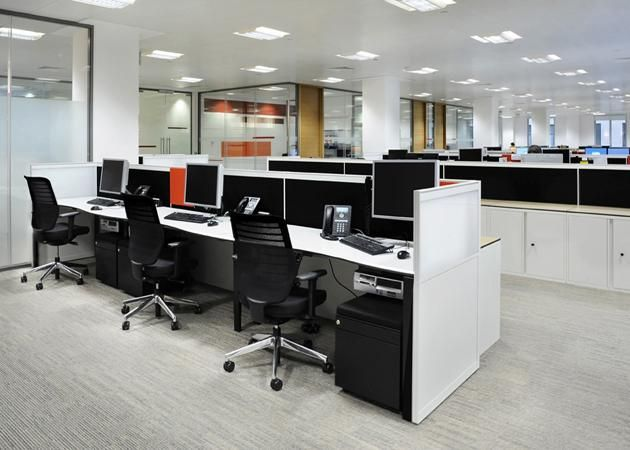 17 best images about ruang kantor dan office space on pinterest startups office spaces and - Small space offices pict ...