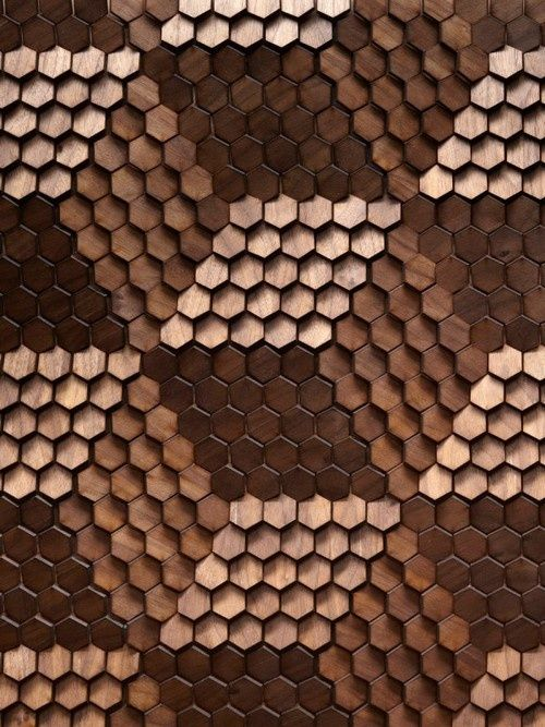 Three different shades of hexagon tile  http://www.justleds.co.za