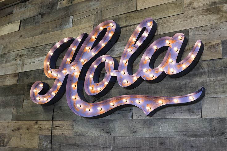 Custom Marquee Signs from the ORIGINAL - Vintage Marquee Lights