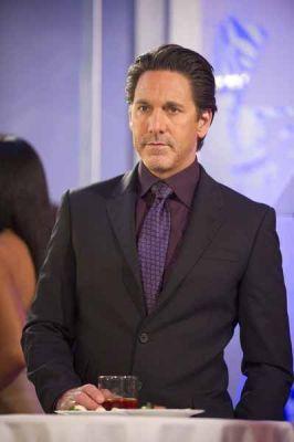 Aubergine shirt and Black suit