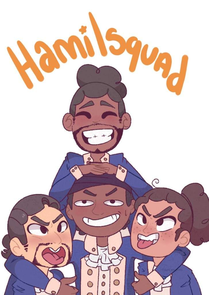 This was my first hamilton fanart I did ✨ I did that draw my squad meme c: