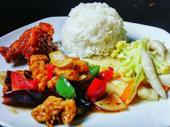 Chicken Paprika Sauce Rice