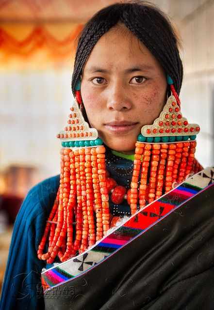 #world cultures The Bride, Tibet by Nico3d via flickr