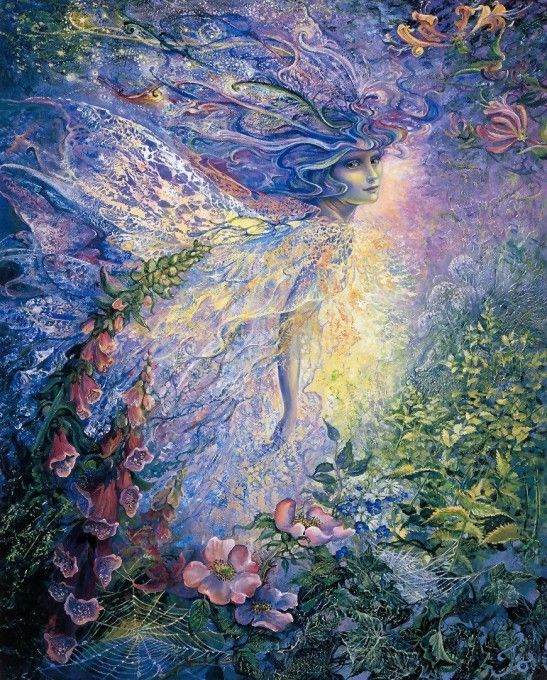 Josephine Wall | I Think I Saw a Fairy | Josephine Wall |