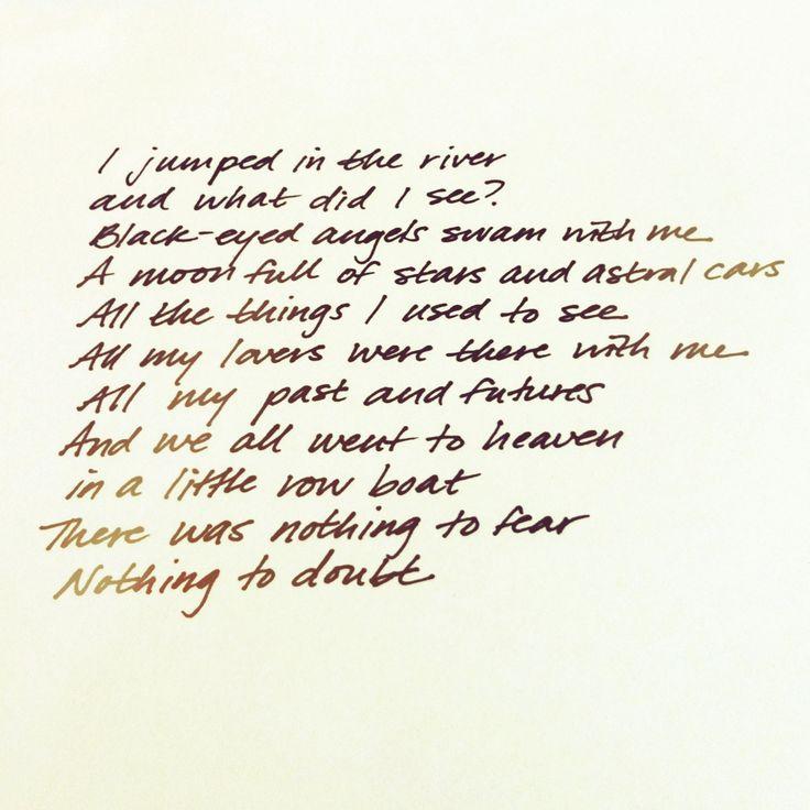 Pyramid Song, Radiohead. #radiohead
