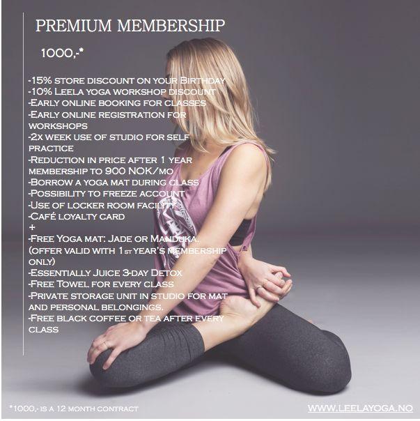 Premium unlimited monthly membership