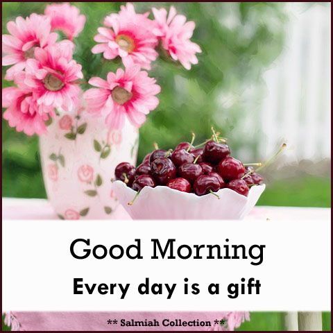 Salmiah Collection: Good Morning Wish 34