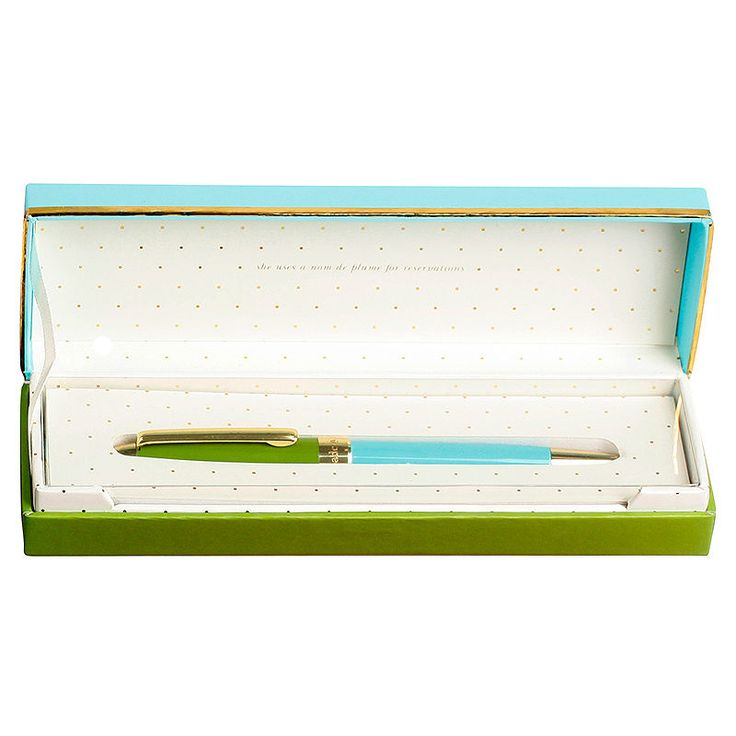 top3 by design - Kate Spade - KS ballpoint pen green turquoise