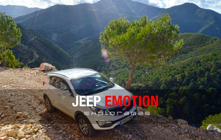Espectacular Jeep Emotion que organizamos este fin de semana por la Sierra de las Nieves. Una competición en la que la velocidad no cuenta; sí en cambio, la orientación, el trabajo en equipo, y el buen humor. Una experiencia para disfrutar del placer de la conducción en un entorno único. Para saborear lo mejor de la gastronomía de la Serranía de Ronda. Para descubrir un destino a través de las emociones. ¿Quieres saber más?