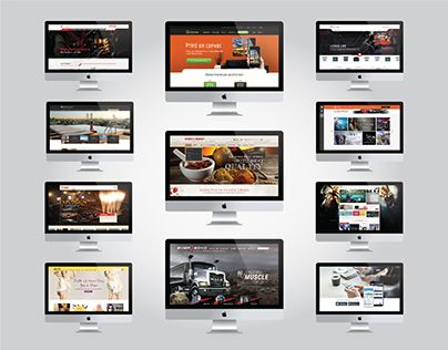 """Check out new work on my @Behance portfolio: """"Website Portfolio - Compilation"""" http://be.net/gallery/32925265/Website-Portfolio-Compilation"""