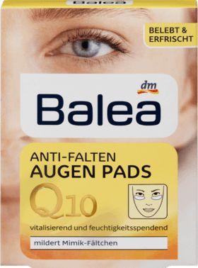 Wertvolle Feuchtigkeit für die zarte Augenpartie: Balea Q10 Anti-Falten Augen Pads vitalisieren und glätten sanft Ihre Haut.#• Omega-Fettsäuren versorgen...