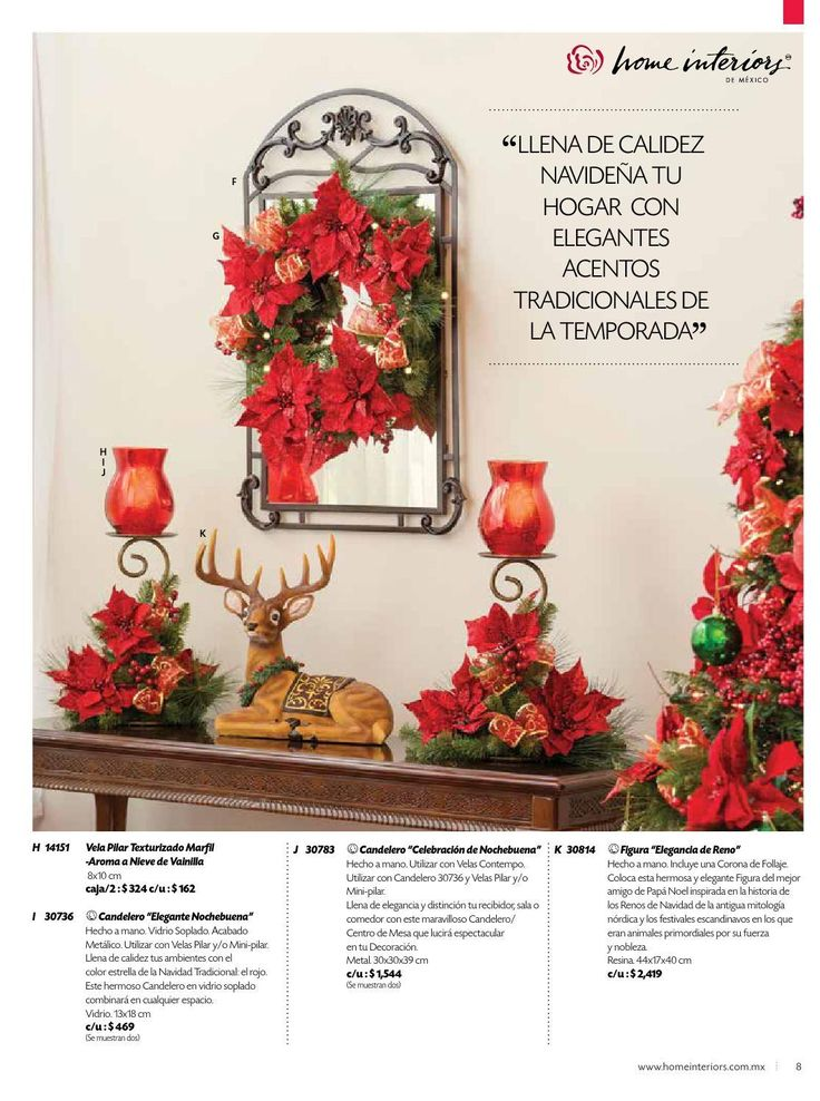 Beautiful #ClippedOnIssuu From Home Interiors De México   Navidad 2015