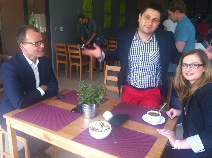 Lunch with #clickad team :)