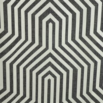 The black and white trend of graphic prints is always popular. The Dag fabric from Boel