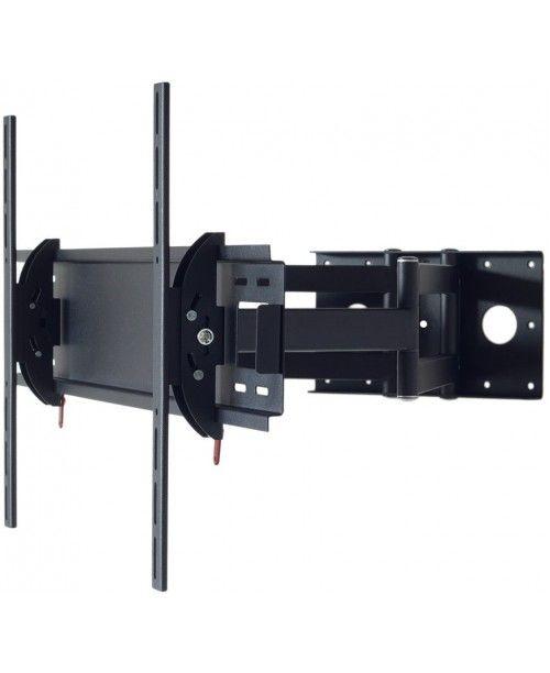 кронштейн Квадо К-68. Наклонно-поворотное (с коленом) настенное крепление для ТВ 42-63``