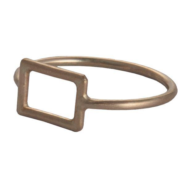 Vitsø Clipsring – Ledring i forgyldt sterling sølv - Tinga Tango. #smykker #vitsø #guld#ring#fingerring