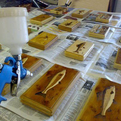 painting with non-toxic water-based paints
