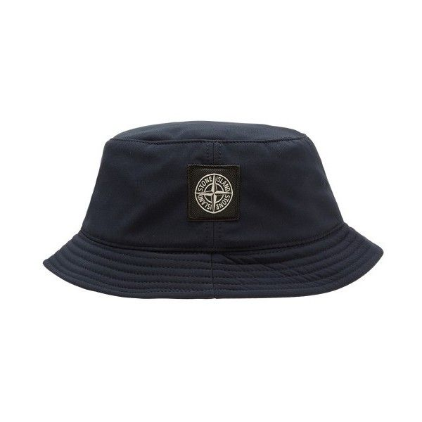 Stone Island Bucket Hat (160 BAM) ❤ liked on Polyvore featuring accessories, hats, bucket hat, navy hat, stone island hat, navy blue hat and fisherman hat