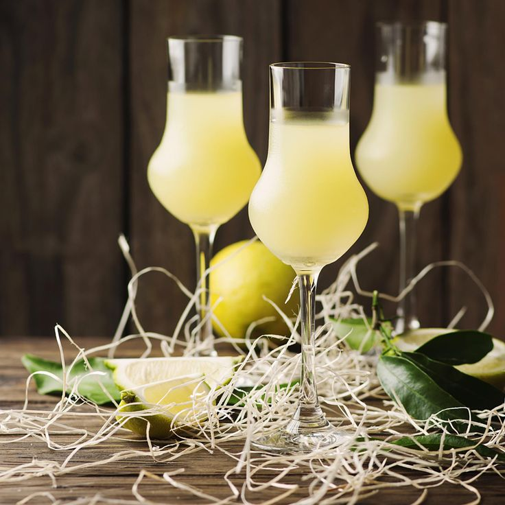 Homemade Limoncello. Make up a batch of this boozy lemony drink - it's great as a homemade gift.