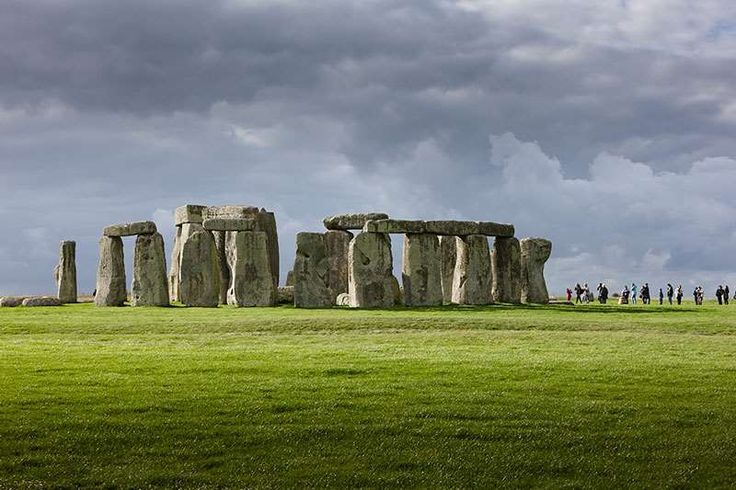 A general view of Stonehenge