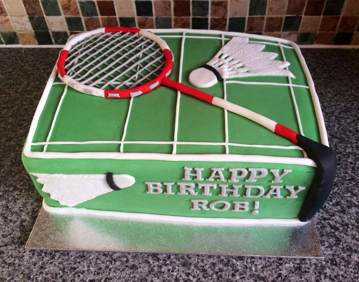 Badminton Cake made by me x