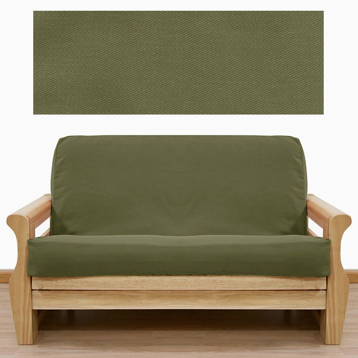 cube easy futon sofa sold futons mattress silver separately action in frame bed green