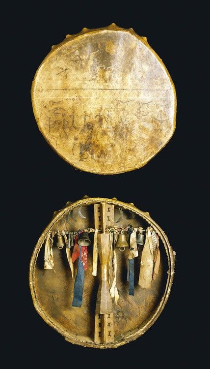 Shaman's drum from Sami Nation